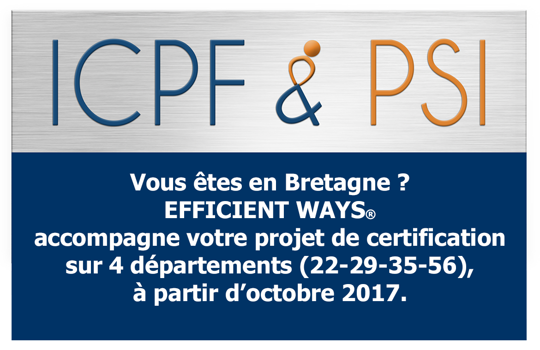 Logo ICPF & PSI Expert CNEFOP logoseulavecEfficientWaysBretagne