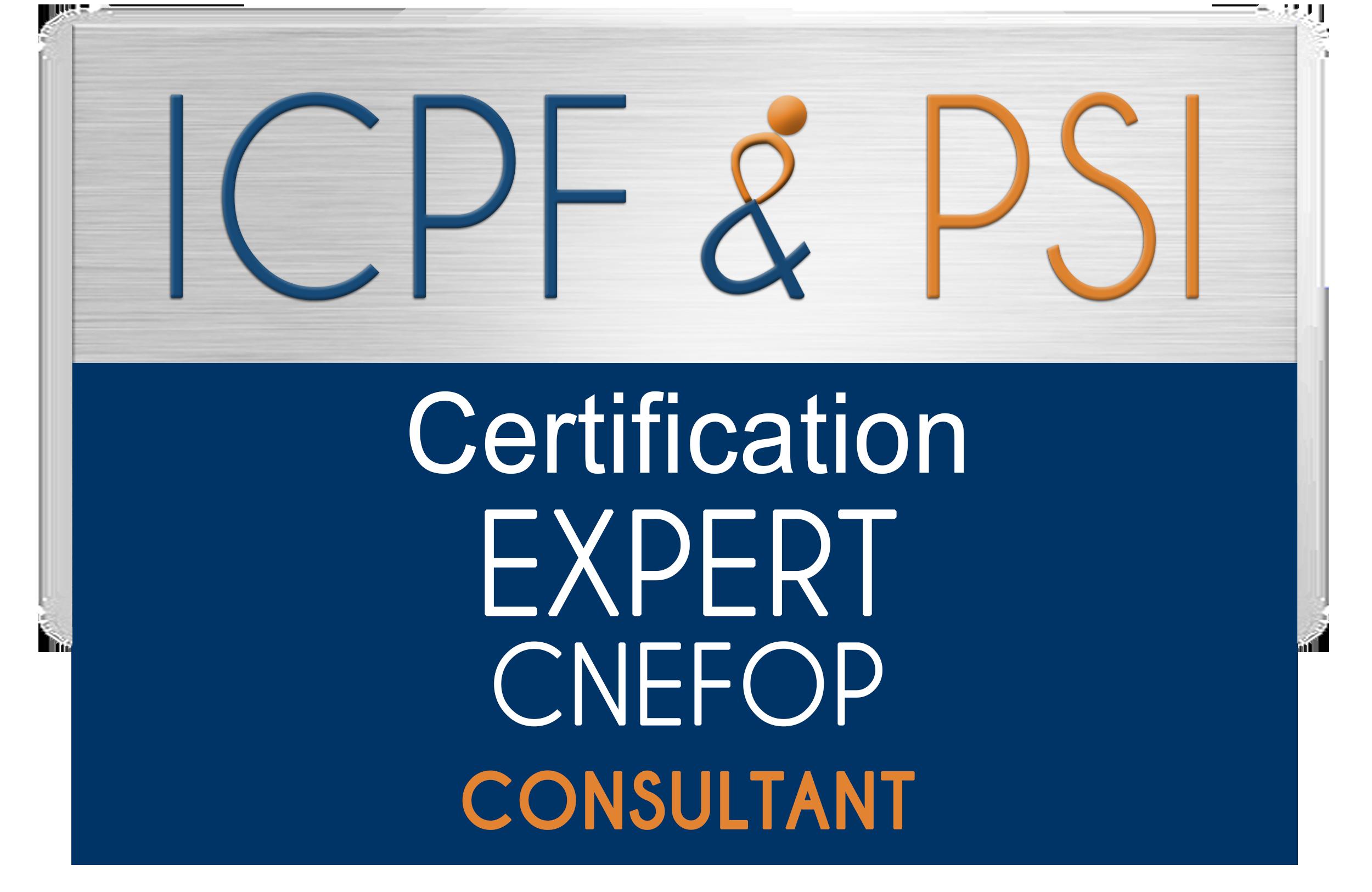 Logo ICPF & PSI Expert CNEFOP Consultant